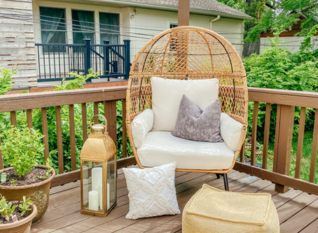 Egg Chair - Patio Outdoor Oasis