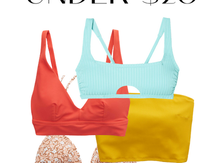 Bikinis Under $20 - Summer 2020 Shopping On A Budget