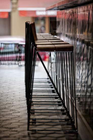 lazer bar stool