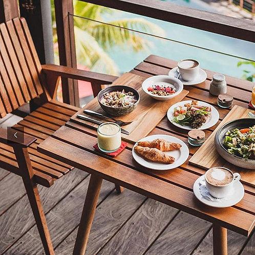 vega slat dining chair