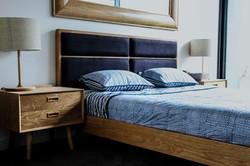 scandic upholstered bed