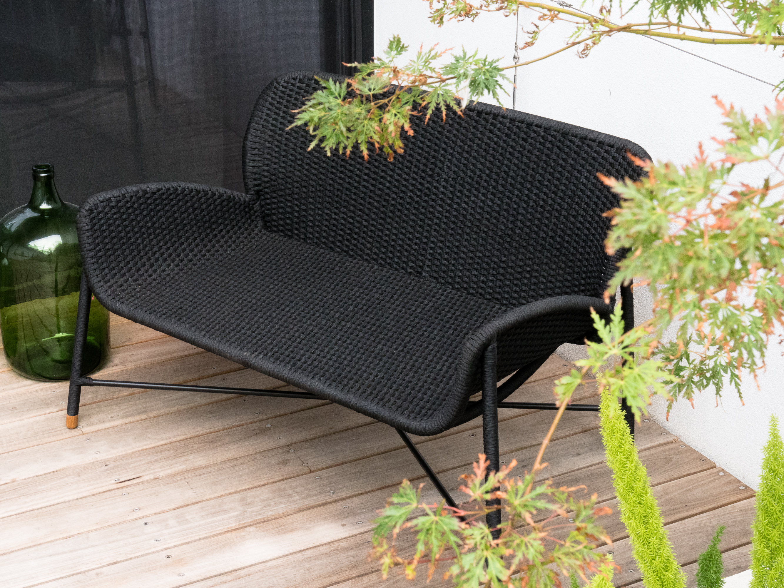 Rain love seat