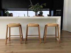float kitchen stool