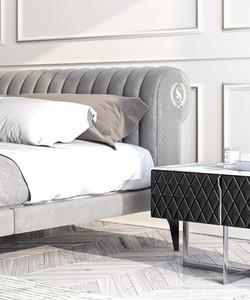 Paris European bed