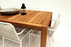 loupe outdoor dining table