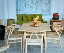 nordic dining table and chairs