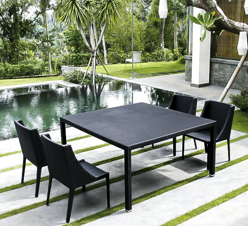 trend outdoor dining table