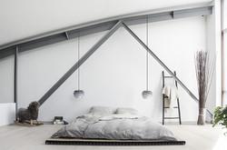 carmina mini pendant - misty grey