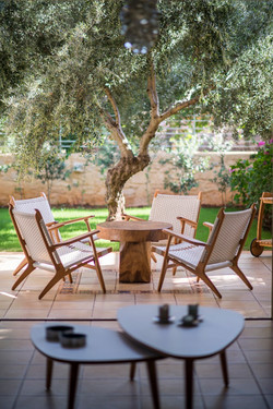 outdoor danish lounge chair