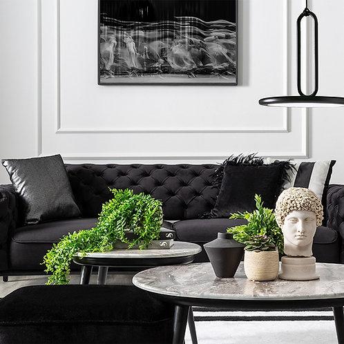 floransa buttoned sofa