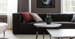 poufy sofa