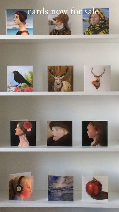 Jill Shields art,Jill Shields interior design, greeting cards, cards,prints, eyemouth Northberwick, fisher folk, birds, fisherman, apple, seascape, stagg, white stage, red stage, king of the forest, cards for sale,  portriture,  jillshieldsart Instagram, facebook