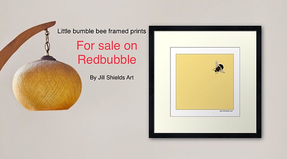 redbubble, little bumble bee,little bumble bee bag, bee, bumblebee, jillshieldsart1,jill shields art, mask little bumblebee, cushion little bumble bee, little bumble bee framed print, framed print, Jill shields art, jillshieldsart, jillshieldsinterior design