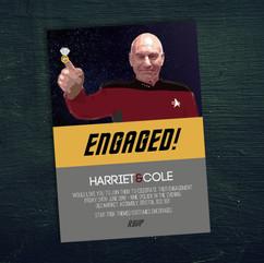 Engaged! Invite