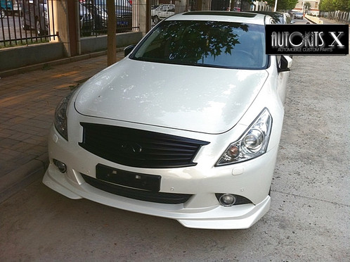 2010 2013 Infiniti G37 Sedan J Style Front Lip