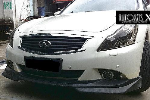 2010-2013 Infiniti G37 Sedan J style Front Lip