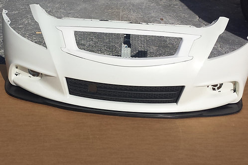 2010 - 2015 Infiniti G37 Q40 Sedan AK Splitter (sport bumper)