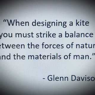 Kites are a balance of art and science.