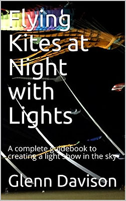Flying Kites at Night with Lights
