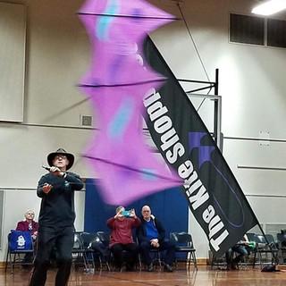 Tirips Kite flying indoors