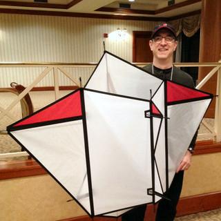 Satellite Cellular Kite