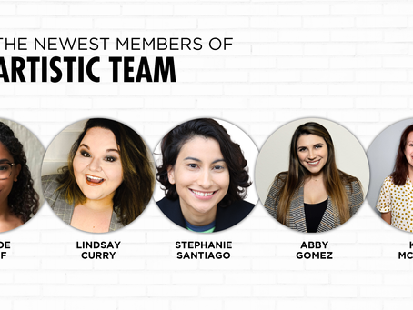 Meet the Newest Members of the Artistic Team