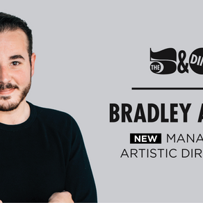 The 5 & Dime names Bradley Akers its new Managing Artistic Director
