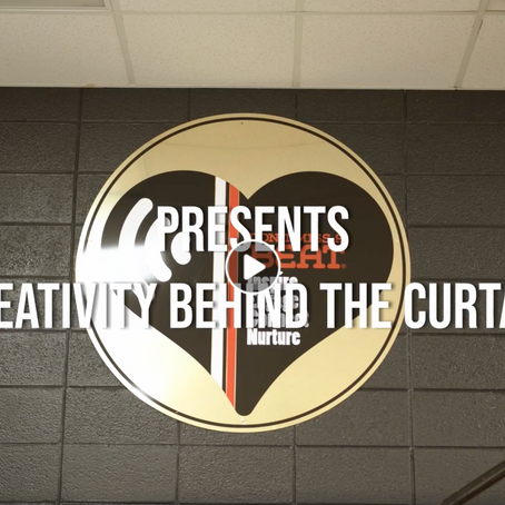 Creativity Behind the Curtain in Partnership with Don't Miss a Beat!