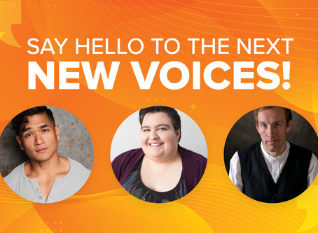 Meet the Playwrights of New Voices 2020!