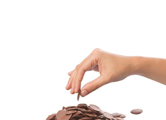 Chocolate puro para cocinar Leche