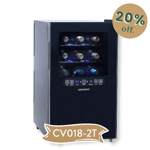 PREVENTA Cava de Vino 18 botellas Cavanova CV018-2T