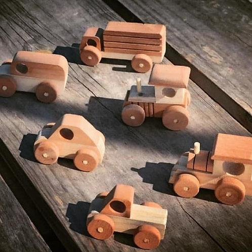 Set Autos Madera