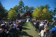 Outdoor wedding at Pavilion