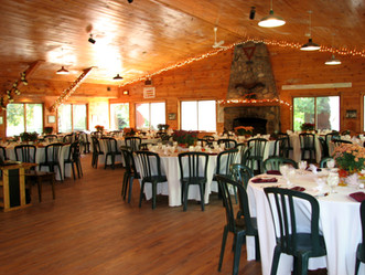 Rotary Lodge Event interior