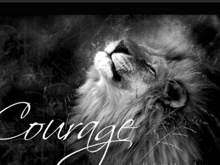 Make your purpose to be courageous