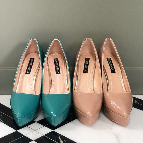 """รองเท้าเสริมหน้าใส่สบายช่วยให้ขาเรียวยาว สูง 5"""""""