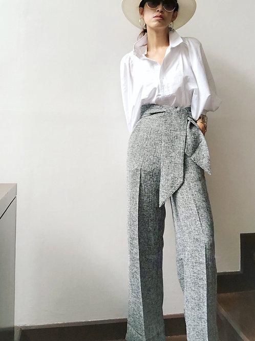 """กางเกงผ้าทวีตแบบนิ่มใส่สบายทรงตรงสวยมาก เอว 27-28 สะโพก 39-40 ความยาวขา 40"""""""