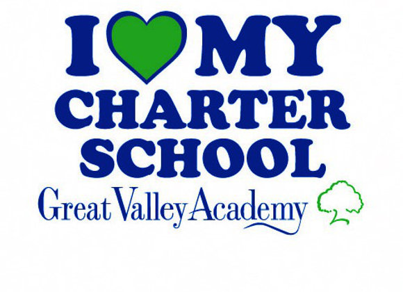 I Love My Charter School Yard Sign