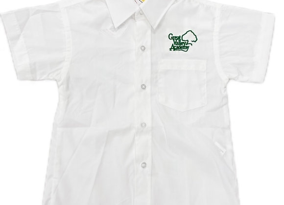 Boys Short Sleeve Button-Up Shirt