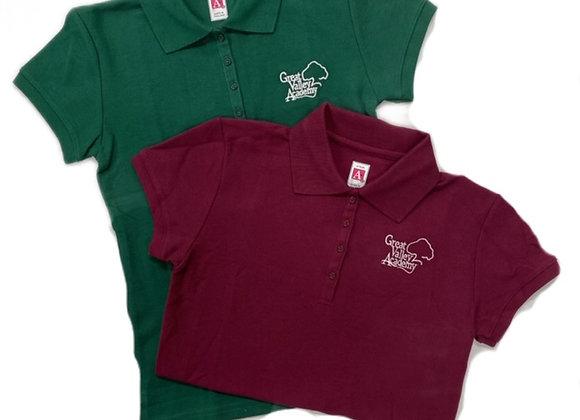 Girls Short Sleeve Polo