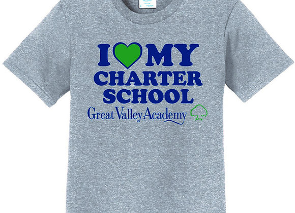 Unisex Crewneck - I Love My Charter School T-shirt