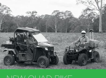 NSW Farmers Quad bike safety rebate