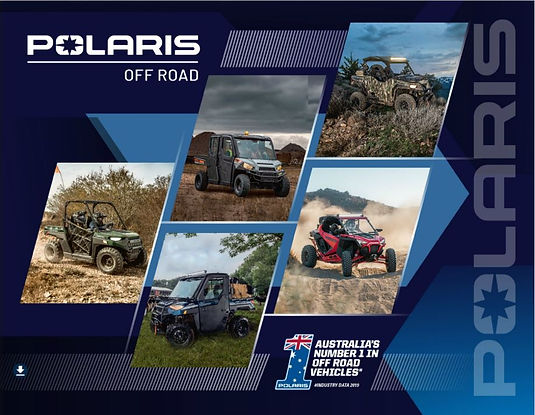 2020 Polaris Model Brochure Forbes Small Engines Ranger ATV SXS Quad Bike