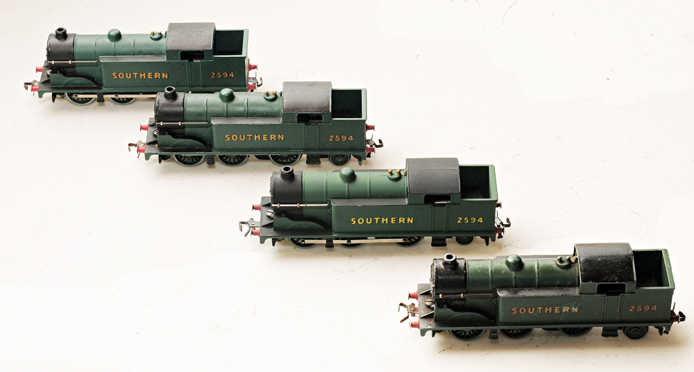 Four interesting Locos