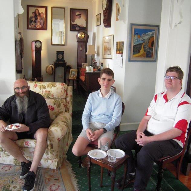 Jason, Peter and Kieran