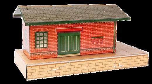 Goods Platform Vintage Model Railways