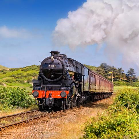 The Norfolk Poppy Line Holt to Sheringham