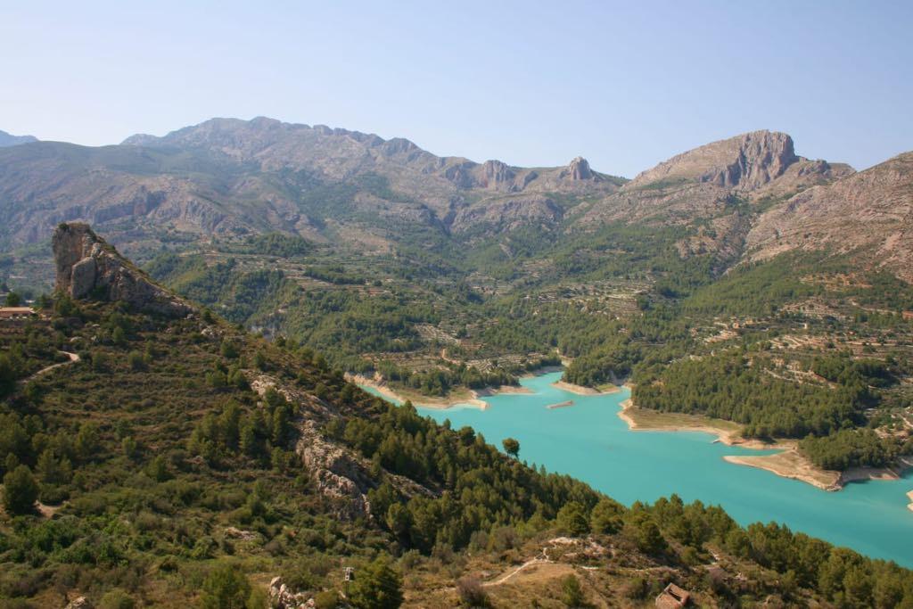 Lake in Guadelest
