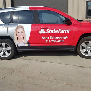 Beauty for State Farm @central_image_wraps & bloomington_car_wraps