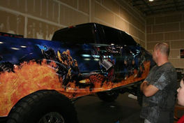 Just a little Transformers Wrap for fun!